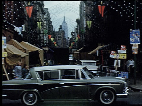 new york city 1959 - 4 of 11 - empire state building video stock e b–roll