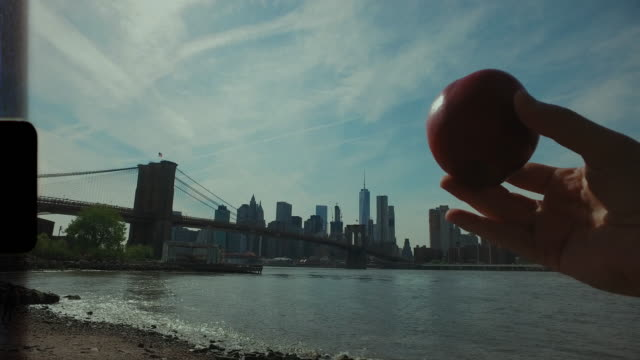 new york city abstract video: the big apple - moving image stock videos & royalty-free footage