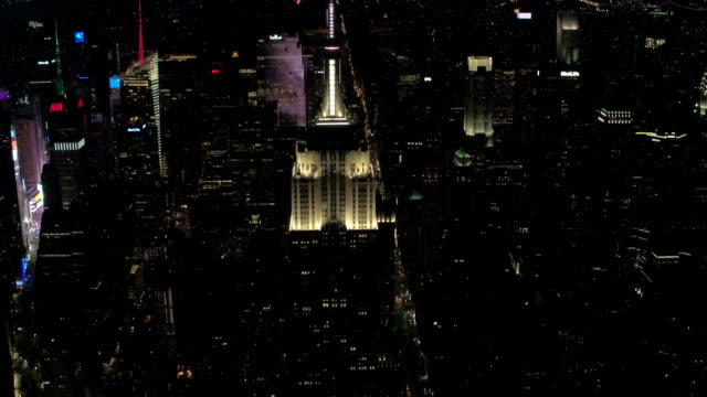 New York City aerial footage
