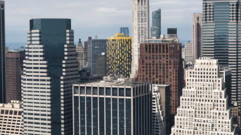 vídeos y material grabado en eventos de stock de vista aérea de la ciudad de nueva york - estado de nueva york