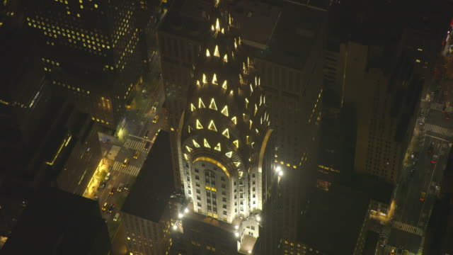 new york city air_150 - chrysler building stock videos & royalty-free footage