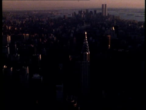 1982 New York City at Dusk