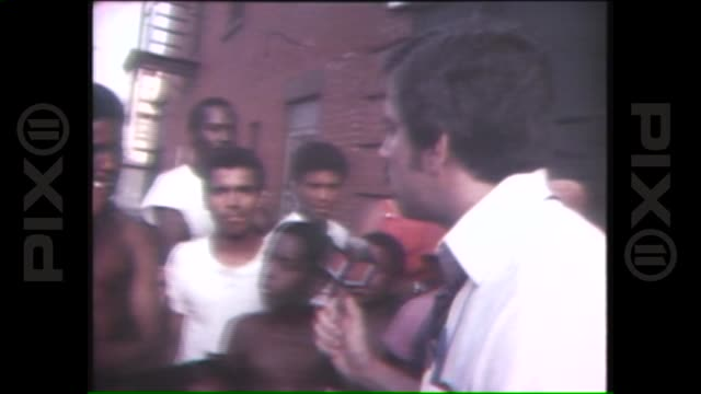 stockvideo's en b-roll-footage met new york city blackout 1977 on july 14 1977 in new york city - 1977