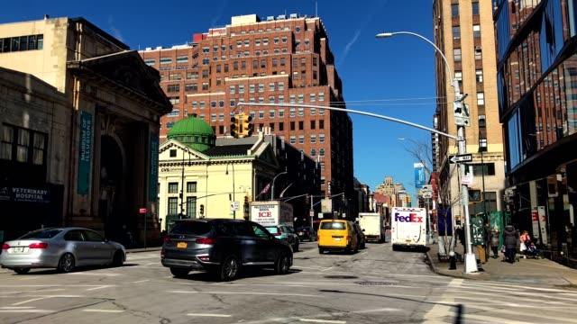 vídeos de stock e filmes b-roll de new york city buildings in chelsea district - chelsea manhattan