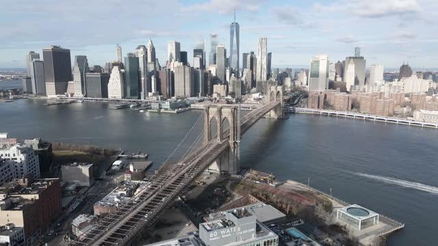 vídeos de stock, filmes e b-roll de new york city establishing shot - establishing shot