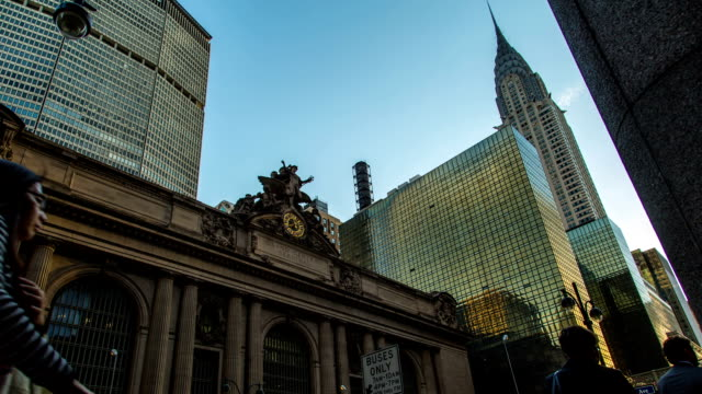 New York City Grand Central time lapse