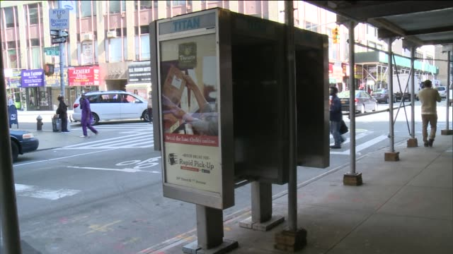 new york city is scuttling a project that would have installed thousands of transmitters in payphones that could track people's movements a private... - public phone stock videos & royalty-free footage
