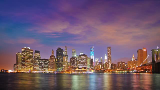 New York City Lower Manhattan skyline