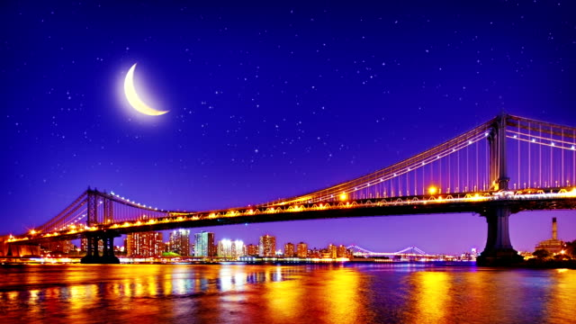 New York City Manhattan Bridge.