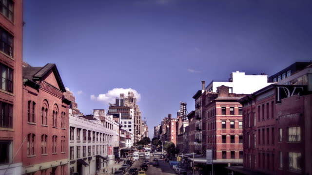 New York City Manhattan street