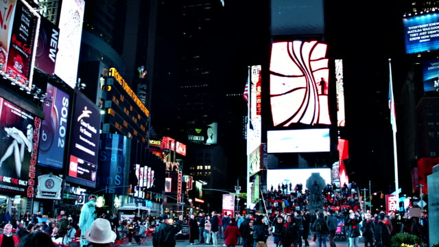 new york city manhattan times square - limousine stock videos & royalty-free footage