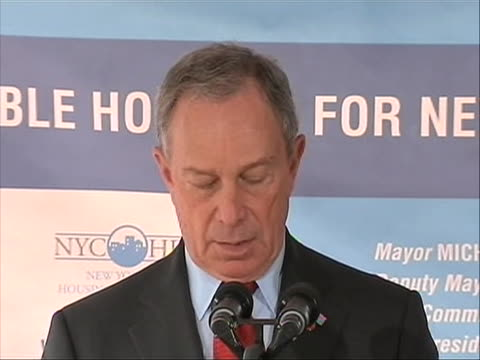 new york city mayor michael bloomberg comments on times square bomb plot the mayor comments police have also obtained other video images of the suv... - united states and (politics or government) stock videos & royalty-free footage