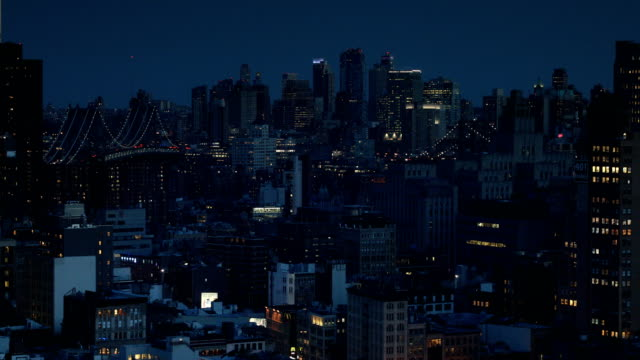 new york city nights - tribeca stock videos & royalty-free footage
