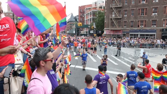 New York City Pride March on June 24 2018 in New York City