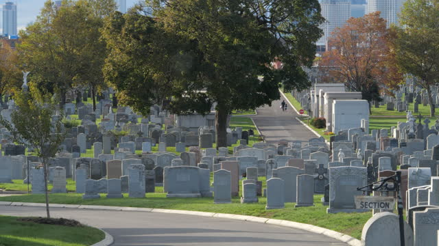 new york city slowly re-opens - gravestone stock videos & royalty-free footage