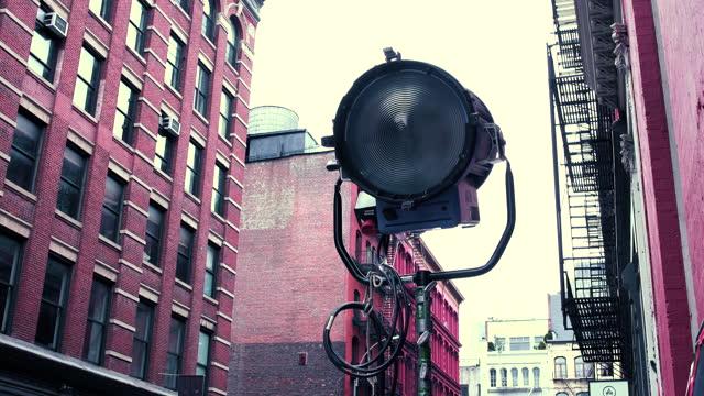 new york city - soho - movie location - film set stock videos & royalty-free footage