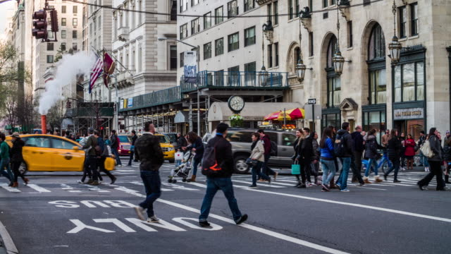New York City Straße-Szene