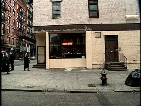 New York City Streets Filmed from a Moving Car