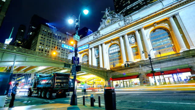 New York City streets - Grand central station