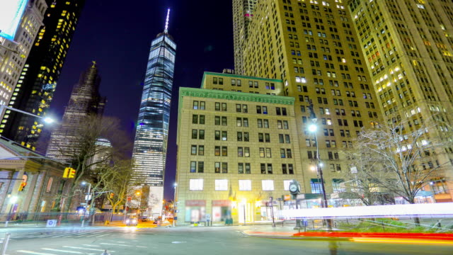 new york city: straßen - zeitraffer fast motion stock-videos und b-roll-filmmaterial
