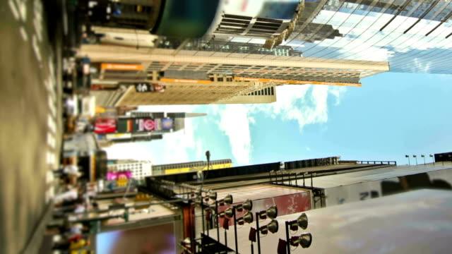 new york city straßen zoom - fensterfront stock-videos und b-roll-filmmaterial