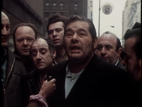 new york city taxi drivers union local 3036 on strike on april 15 1971 in new york city - trade union stock videos & royalty-free footage