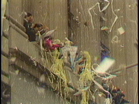 new york city throws a ticker-tape parade for the mets after the team's world series win in 1986. - 1986 stock videos & royalty-free footage