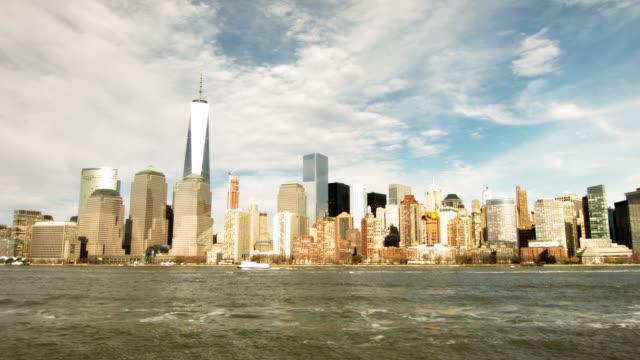vidéos et rushes de la ville de new york - port de new york