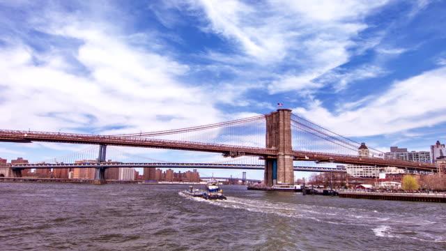 new york city - hängebrücke stock-videos und b-roll-filmmaterial