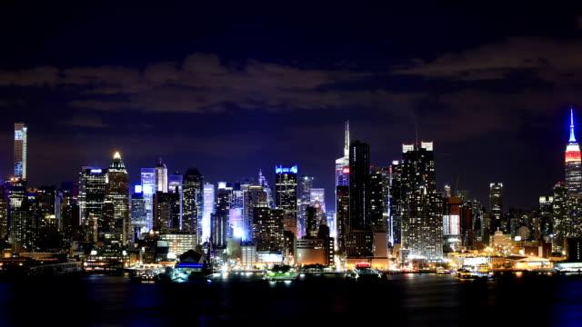 vídeos de stock, filmes e b-roll de cidade de nova york - prédio empire state