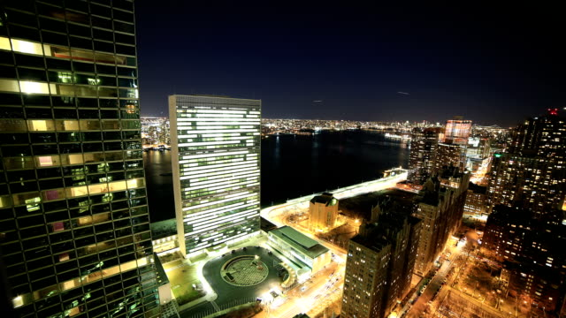 new york city - united nations building stock videos and b-roll footage