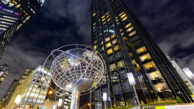 time lapse, trump hotel–tower, new york city - unisphere stock videos & royalty-free footage