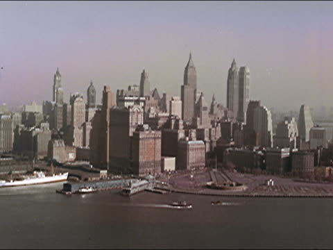 vídeos de stock e filmes b-roll de 1956 new york city - 1956