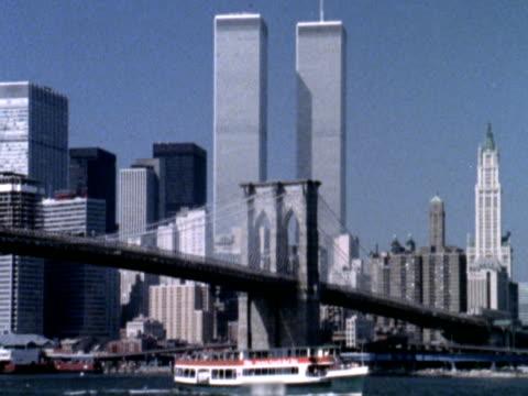 new york-stadtansicht um 1985 - 1985 stock-videos und b-roll-filmmaterial