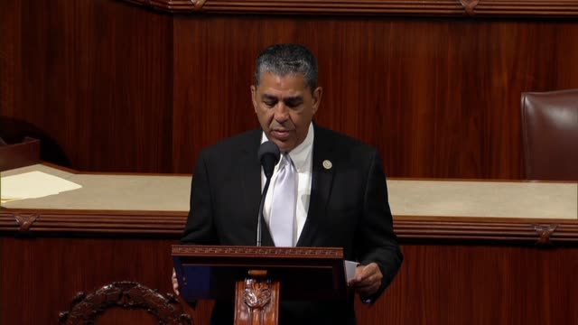 new york congressman adriano espaillat cites a moral obligation to help american citizens in puerto rico figure after hurricane maria, that thousands... - 米国国防総省点の映像素材/bロール