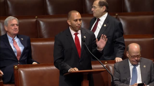 New York Congressman Hakeem Jeffries argues against adoption of the budget resolution charging that Republicans are determined to visit cruel and...