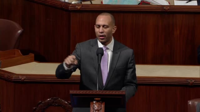 new york congressman hakeem jeffries says on day 26 of a partial government shutdown the coast guard officers, border patrol agents, tsa agents and... - day26 stock videos & royalty-free footage