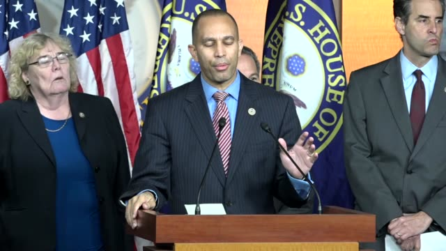 New York Congressman Hakeem Jeffries says the Republican response to continuing Russian aggression against the United States was woefully inadequate...