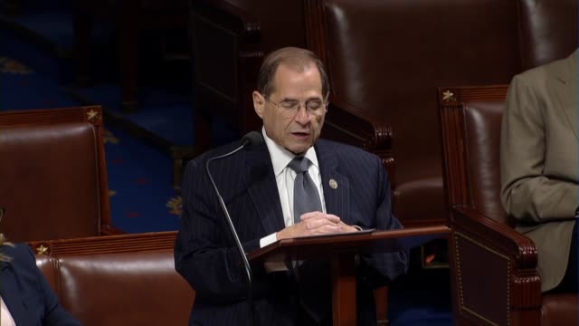 New York Congressman Jerrold Nadler says in debate on a resolution insisting on subpoena and document request compliance from the Justice Department...
