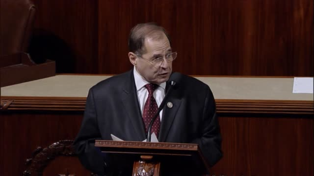 New York Congressman Jerry Nadler argues in support of the bill making the United States Register of Copyright a position confirmed by the Senate...