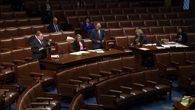 new york congressman jerry nadler opposes a bill that would stiffen penalties for felonious immigrant recidivists calling the bill draconian whereas... - safety net stock videos and b-roll footage