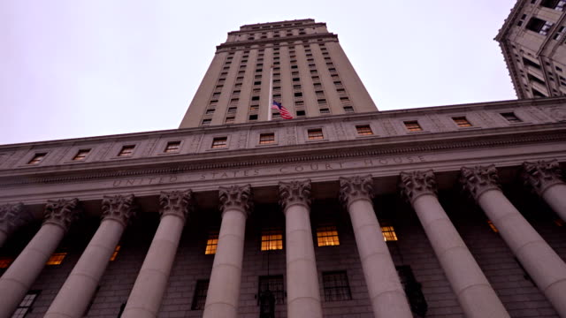stockvideo's en b-roll-footage met new york county court - stadsdeel