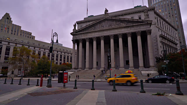 new york county supreme court building - ukraine stock videos & royalty-free footage