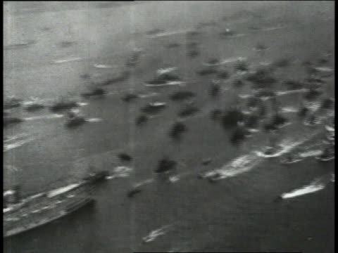 new york harbor with crowd of boats driving in the water / new york new york united states - 1927 stock videos and b-roll footage