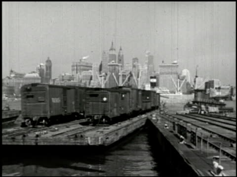 new york harbors - world's busiest port - 12 of 14 - see other clips from this shoot 2232 stock videos & royalty-free footage