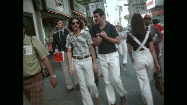 stockvideo's en b-roll-footage met new york in the 1970s - international landmark
