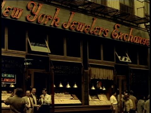 1940 MS New York Jewelers Exchange exterior / New York City, New York, USA
