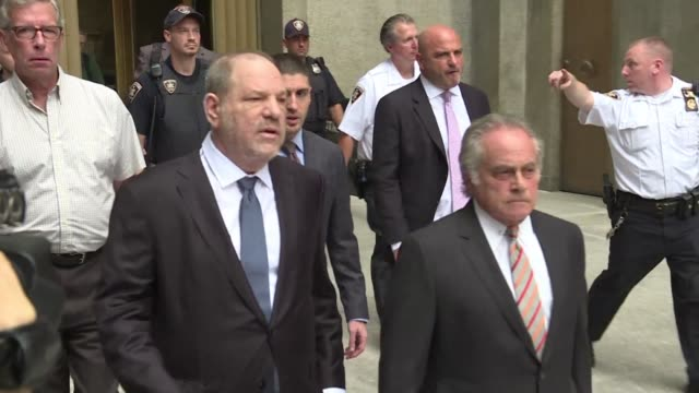 a new york judge dismisses one of six sexual assault allegations against harvey weinstein handing the defence a win with the former hollywood mogul's... - former stock videos & royalty-free footage