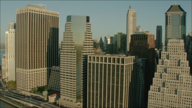 New York Manhattan 4k Aerial Flying Past Manhattan Buildings 1