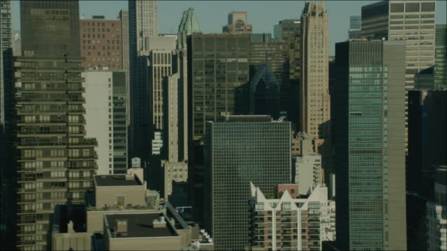 New York Manhattan 4k Aerial Flying Past Manhattan Buildings 3